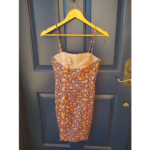 Anthropologie Dresses & Skirts - Tracy Reese Plenty   patterned silk button dress